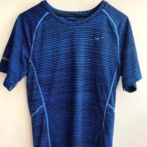 Nike blue athletic t-shirt